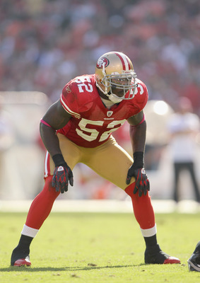 Patrick Willis leads the 49ers' defense