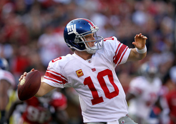 Eli Manning is playing like a Super Bowl quarterback
