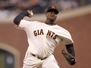 Guillermo Mota has pitched for the Giants since 2010