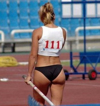 Women's Track and Field Pole-Vault
