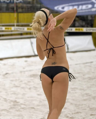 Did you know : In naturism and nudism volleyball has become cliche and