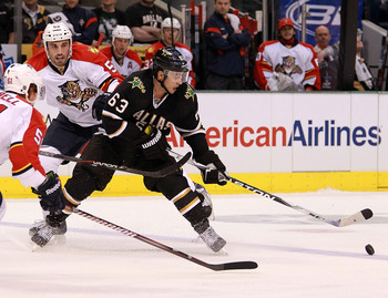 Mike Ribeiro on November 15, 2011 versus the Florida Panthers.