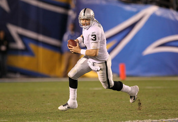Carson Palmer is the new face of the Raiders.