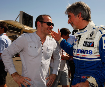 Jacques Villeneuve in conversation with Damon Hill