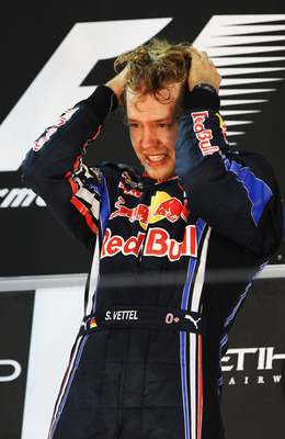 An emotional youngest ever, new world champion - Abu Dhabi 2010