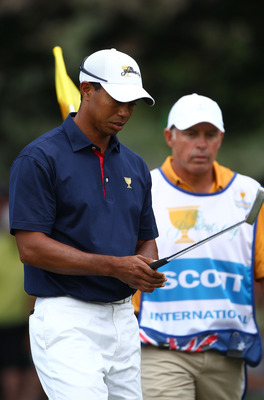 Tiger Woods & Ex-caddy Steve Williams