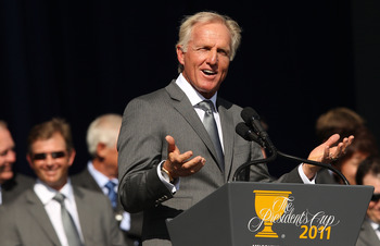 International Team Captain Greg Norman