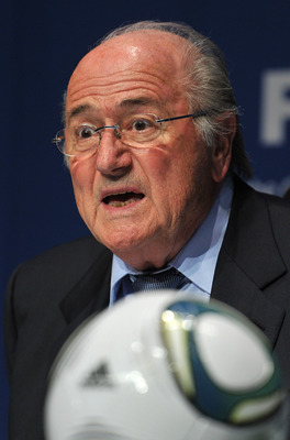 "Mindful of sponsor Adidas, Blatter tells gay fans, ""Just Don't Do It"""