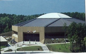 The Dean Smith Center in Chapel Hill N.C.