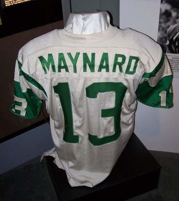 Don Maynard's Jersey, Pro Football Hall of Fame