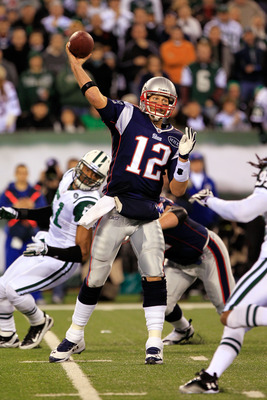 The New England Patriots' Tom Brady (12) has been the most successful quarterback of the past decade.