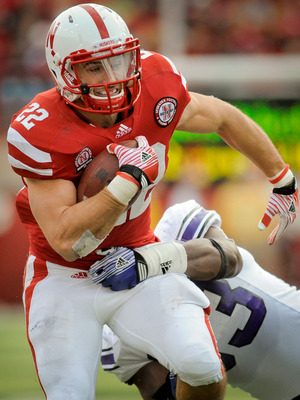 The Huskers will need a big day from Burkhead against the Wolverines' stout run defense