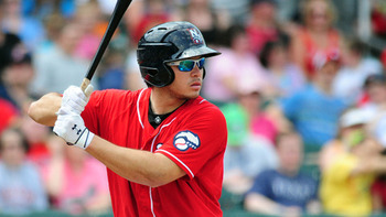 Toronto catcher Travis d'Arnaud anchors one of the top farm systems in baseball