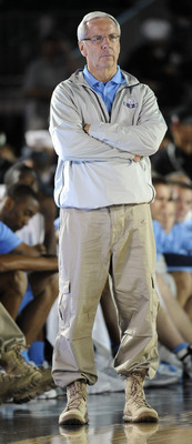 Roy Williams has the #1 Tar Heels in a great position.
