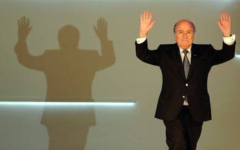 Blatter evens appears as a villain on certain Super Mario levels.
