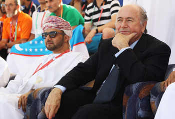 Blatter banned beer inside stadiums to prevent spillages on his fancy new chair.