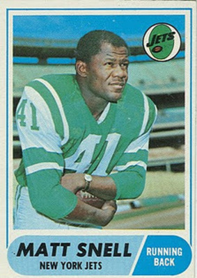 RB Matt Snell (1964-1972)