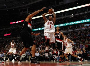 Bulls Vs. Trail Blazers