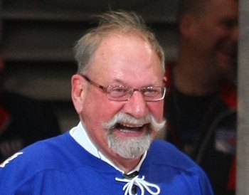 Eddie Shack on February 22, 2009