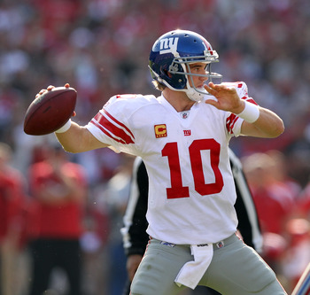 Eli Manning has emerged as a top flight quarterback