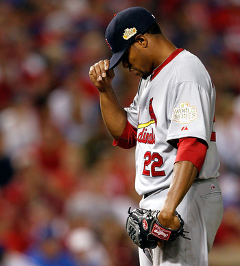 In spite of some postseason struggles Edwin Jackson still got a World Series Ring this past season.