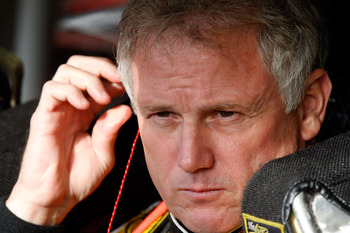 Ricky Rudd in his final season in 2007