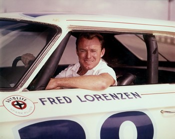 Fred Lorenzen, at Riverside, California