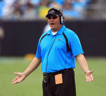Ron Rivera's team has struggled in his first year as head coach