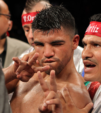Victor Ortiz after the Mayweather debacle