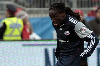 Shalrie Joseph led the New England Revolution in goals scored in 2011 with eight.