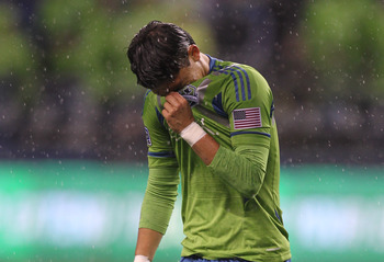 Once again, Fredy Montero and the Seattle Sounders fell at the first hurdle in the MLS Cup Playoffs.