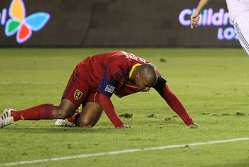 Jamison Olave and Real Salt Lake were run over by a white Galactic train from L.A.