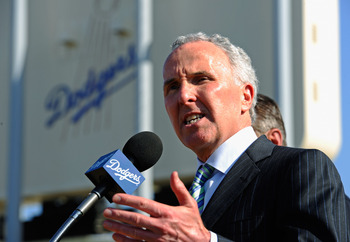 Frank McCourt is the embattled owner of the Dodgers