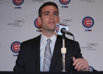 Theo Epstein hopes to bring a World Series title to the Cubs