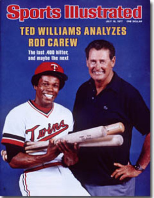 "Despite Ted's Confidence, Carew finished at ""just"" .388 in 1977.."