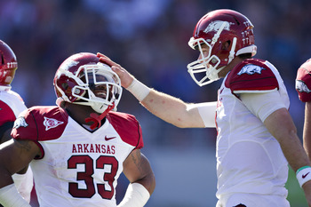 Arkansas is upset minded as they head to Baton Rouge Saturday