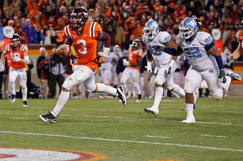 Logan Thomas will lead his Hokies to the ACC Championship Game