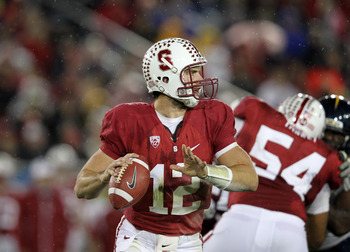 Andrew Luck and Stanford can only hope Oregon slips up against the Beavers
