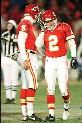 Kansas City Kicker Lin Elliott missed three Field Goals in the 95-96 AFC Divisional Round.