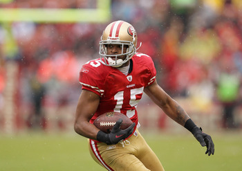 Michael Crabtree was drafted to be the number one receiver in SF