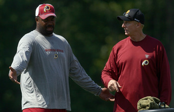 Jim Haslett has done a good job at rejuvenating the Redskins defense minus players like Albert Haynesworth, but his play calling has become too predictable in recent games.