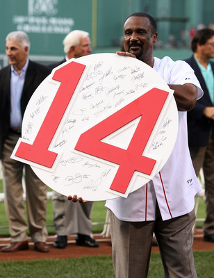 Jim Rice's number retirement came two days after his 2009 Hall of Fame induction.