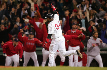Another day, another walk-off homer for Big Papi.