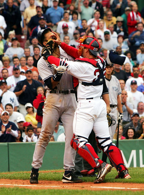 After Varitek gave A-Rod a face-full of his glove in July 2004, the Red Sox raised their game to a new level.