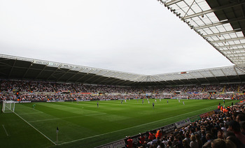 Swansea City's home: The Liberty Stadium