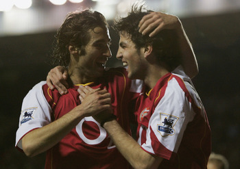 Flamini and Fabregas: Dream combination