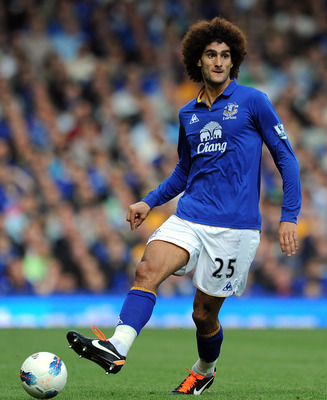 Fellaini has been a versatile and solid footballer all over the park for Everton.