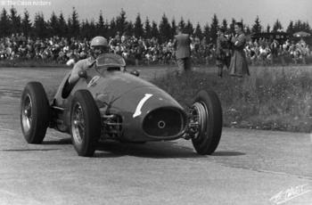 Ascari at The Ring in 1953.