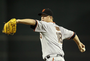 Matt Cain's contract expires after the 2012 season
