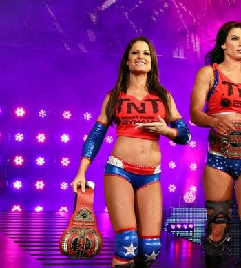 Brooke Tessmacher could be the future of the Knockouts division